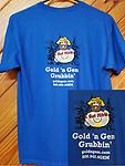 GGG Youth T-Shirt - 100% Pre Shrunk Cotton Youth T-Shirt- Blue
