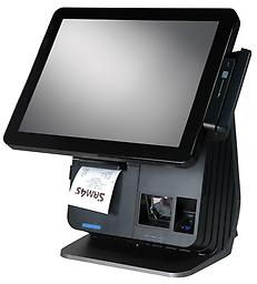"""SAM SPT-7650 WIN 10 ENT (All In One) SAM SPT-7650 is our exclusive pos that we use for customers that want an all in one 15"""" touchscreen with a built in thermal printer. (Scanner & Fingerprint recognition are additional)"""