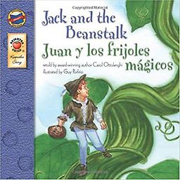 Jack and the Beanstalk, : Juan y los frijoles magicos 2005 English-Spanish Version In this beloved tale, Jack watches in amazement as his magic beans grow into a beanstalk that reaches beyond the clouds! Children will eagerly continue reading to see whether