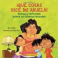 Qué cosas dice mi abuela (The Things My Grandmother Says) - Age Range: 4 - 8 years