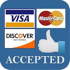 Merchant Services Acceptance for Visa, Mastercard,American Express,Discover,Diners Club,EBT,WEX,Fleet and other misc. cards (Check Verification has additional fees) 24/7 live support,lowest fees
