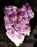 Amethyst Crystal 2 lb - Heart Shaped Amethyst Crystal! 2 Pounds!