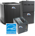 16 SEER 2-Stage Full Air Conditioning System Installed SPECIAL! - 2-STAGE air conditioning system for residential replacement. Furnace, Coil and air conditioner installed. Starting @ $8,600 (OC and Inland Empire CA. Only) Other areas may be eligible. FREE ESTIMATES