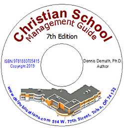 Christian School Management Guide Edition 7 469 page Management Guide with Special Commentary, Legal Notes and Implementation Strategies.