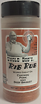 UNCLE BOB's - Rib Rub 10.5 oz. - Our Rib Rub is the most popular and has become the go to blend for many home cooks and competition BBQ chefs. It's low sodium but flavorful, works well in all cooking applications