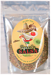 SPEEDY SALSA - No Heat Mild Salsa Mix 4 oz. - Created for those who love salsa, just not the heat.. Our version has all the flavor of regular salsa without the spice.