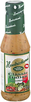 HENDRICKSON'S DRESSING - Classic Italian 16 oz. - Hendrickson's Classic Italian Salad Dressing is a new flavor similar to vinegar and oil but with lots of spices and vegetables--but using no oil.