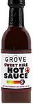 THE GROVE - Sweet Fire Hot Sauce 5 oz. - Caution... Extremely Hot Habanero Peppers 100k-350k(scoville) + Birds Eye Peppers 100k-225k(scoville) = Ouch