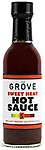THE GROVE - Sweet Heat Hot Sauce 5 oz. - Sweet Heat is a combination of Habaneros, Birds Eye Peppers and Ginger. It has an initial sweet taste with a heat that likes to linger. The scoville units are high on these peppers but on this recipe.