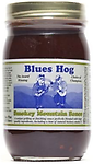 BLUES HOG - Smokey Mountain Sauce 16 oz. - Blues Hog Smokey Mountain Sauce is a unique grilling/finishing sauce that combines the rich blend of high quality ingredients found in Blues Hog Original with the added depth of natural hickory smoke.