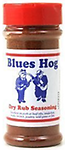"""BLUES HOG - Original Dry Rub Seasoning 5.5 oz. - The """"Rub"""" acts as a dry marinade by combining a unique blend of spices which enhance the natural flavor of pork, poultry, or wild game and compliments vegetables as well."""