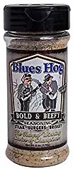 "BLUES HOG - Bold & Beefy Seasoning 6 oz. The newest addition to the ""Award-Winning, Choice of Champions"" line"