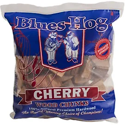 "BLUES HOG - Cherry Wood Chunks 300 cu in. From the ""Award-Winning, Choice of Champions"" comes our line of premium smoking wood chunks!"