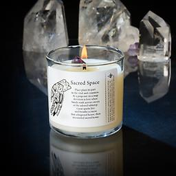 Sacred Space 6oz Candles Magic Fairy Candles