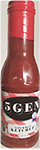 ` 5GEN - Gourmet Ketchup 12 oz. - All natural and gluten free complements burgers, pork, chicken and fries.