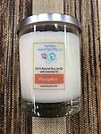 RH ND Soy Candle - Pumpkin - 100% Natural Soy Candles with coconut oil - 12 oz