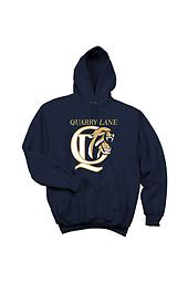 QL Port & Co. 50/50 Cotton/Poly Hoodie Port & Company 50/50 Cotton/Poly Tee with front logo.
