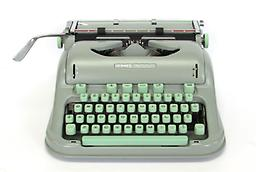 Hermes 3000 (old style) Collectible Portable Typewriter