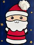 """SANTA - 9 x 12"""" Paint Pack *PICK-UP AT STUDIO. WE WILL EMAIL YOU TO ARRANGE PICK-UP ONCE ORDER IS RECEIVED."""