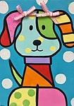 """PUPPY LOVE - 9 X 12"""" Paint Pack *PICK-UP AT STUDIO. WE WILL EMAIL YOU TO ARRANGE PICK-UP ONCE ORDER IS RECEIVED."""