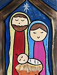 """NATIVITY - 12 x 16"""" Paint Pack *PICK-UP AT STUDIO. WE WILL EMAIL YOU TO ARRANGE PICK-UP ONCE ORDER IS RECEIVED."""