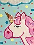 """UNICORN DREAMS (SMALL) - 9 x 12"""" Paint Pack *PICK-UP AT STUDIO. WE WILL EMAIL YOU TO ARRANGE PICK-UP ONCE ORDER IS RECEIVED."""