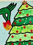 """THE GRINCH - 12 x 16"""" Paint Pack *PICK-UP AT STUDIO. WE WILL EMAIL YOU TO ARRANGE PICK-UP ONCE ORDER IS RECEIVED."""