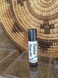 Painless Therapy Melt Travel size (With or with Out Hemp CBD) Painless Therapy Melt Travel size: Comes in a black roll-up lip balm tube. It is the perfect size for a pocket or purse so you have pain relief with you any time you need.