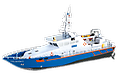 ALSHÖFTPATROL BOAT (PROFI) - As the captain of the Falshöft it's your job to keep the sea around the coastline safe. This 60 cm ship is a faithful reproduction of the twin engine original!