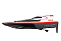 2,4GHz Race Boat, red - Surfers With a length of 41 cm and its digital/proportional driving and steering function, the Carrera RC Race Boat is impressive and also nippy and agile with a running time of up to 15 minutes.