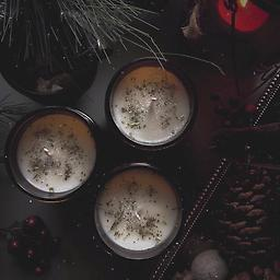 Snow Covered Pine CANDLE, Comes in a 9oz amber jar filled with 7oz of magical coconut wax.