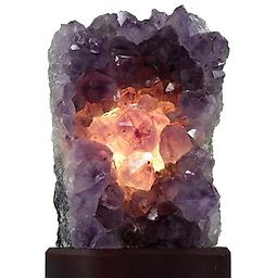 Amethyst Cluster Lamp Raw Crystals & Minerals