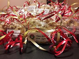 Christmas Party Pralines For All Occasions (per 50 ct.) These pralines make great Christmas gifts for teachers and school staff, postman, garbage collectors, neighborhood, friends and family. They are also great for the office. #PraliniereLegacy