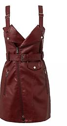 Burgundy Moto Dress The is one of our favorite colors! It is perfect for all skin tones exuding a warm and welcoming sense of style. It will rock the house each time you wear it.