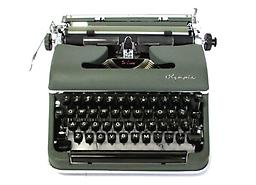 Olympia SM3 (Green) Collectible Portable Typewriter