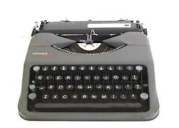 Hermes Baby (Gray) Collectible Portable Typewriter