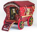 Shavonia's Gypsy Caravan - Shavonia, a gypsy fortune teller, travels around the countryside in her Gypsy Caravan. Based on a pattern from Arley Berryhill.