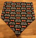 Bad to the Bone Bandana - Band to the Bone Dog Bandana