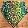 Luck at End of Rainbow Bandana - Luck at End of Rainbow Dog Bandana