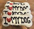 I Love My Dog Bone Treat - I Love My Dog Bone Treat