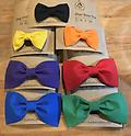 Dog Everyday Bow Ties - Everyday Bow Ties attach with velcro and come in a variety of bright colors to jazz up your dogs daily adventures!