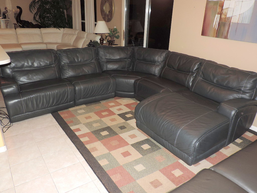 Caruso Leather Sectional Best Home Decorating Ideas
