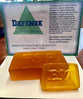 Defense Soap (infused with essential oils) - Defense soap. Includes small hand bar!