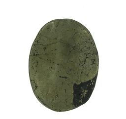 Pyrite Worry Stone Raw Crystals & Minerals