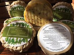 Harvest (organic garden hemp oil soap) Organically grown ingredients selected for skin benefit properties. Colorado Autumn Scent with Herbal exfoliation. Skin Care perfection!