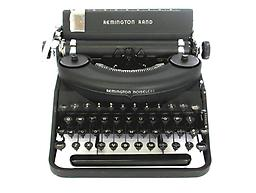 Remington Rand Noiseless Collectible Portable Typewriter ON SALE NOW!