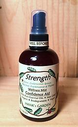 STRENGTH Wellness Mist - Confidence Booster - 25% off Lime, Cedarwood, Spruce, Bay Leaf, Frankincense & Thyme --- ORGANIC - VEGAN - BIODEGRADABLE - NON GMO - 100% PURE ESSENTIAL OILS