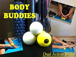 BodyBuddie The perfect remedy for sore neck and shoulders is the Bodybuddie. You can work both sides of the spine at once, and it easily targets tight muscles, and breaks down scar tissue
