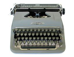 Underwood Tower (Gray) Collectible Portable Typewriter