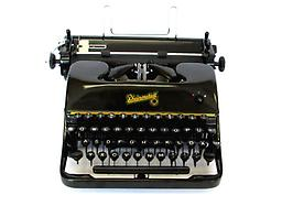 Rheinmetall Portable Collectible Portable Typewriter ON SALE NOW!